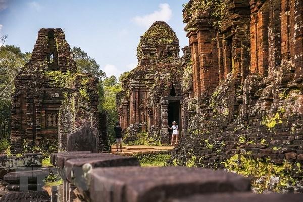 Des scientifiques indiens aident le Vietnam a restaurer le patrimoine culturel mondial de My Son hinh anh 1