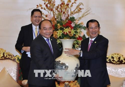 Vietnam et Cambodge affirment la determination de consolider les relations bilaterales hinh anh 1
