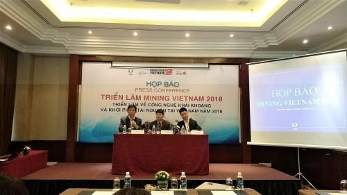 Bientot l'exposition Mining Vietnam 2018 hinh anh 1