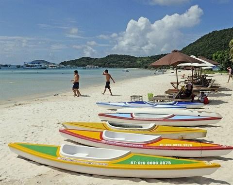 La province de Kien Giang attire toujours plus de touristes hinh anh 1