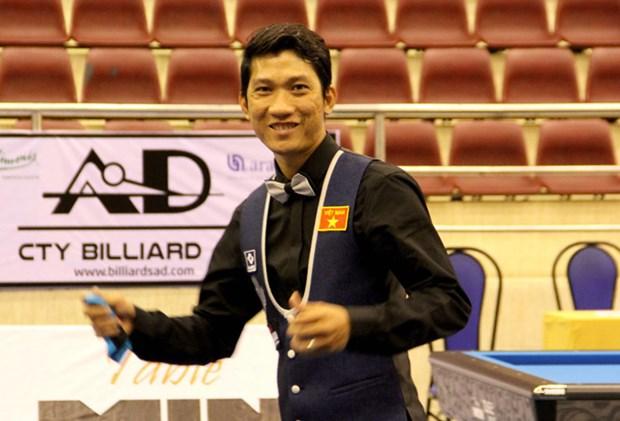 Billard : Ngo Dinh Nai conserve le titre de champion d'Asie de carambole a une bande hinh anh 1