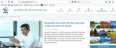 Mise en place d'un registre des guides vietnamiens par Viettel hinh anh 1