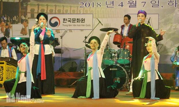 Journee culturelle de la Republique de Coree a Ha Nam hinh anh 1