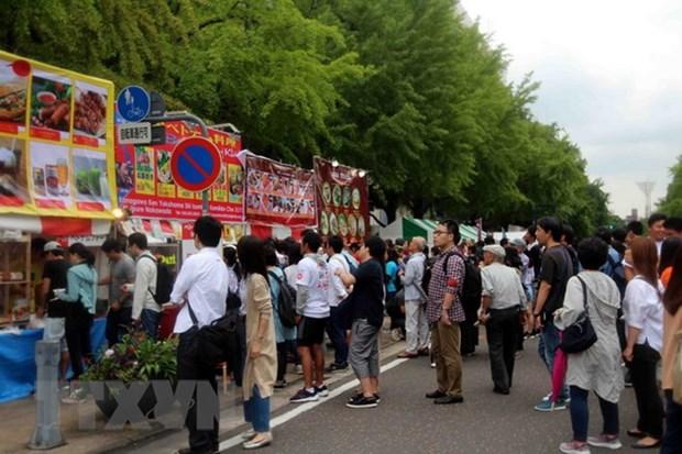 Grand succes de la fete du Vietnam 2018 a Aichi (Japon) hinh anh 1