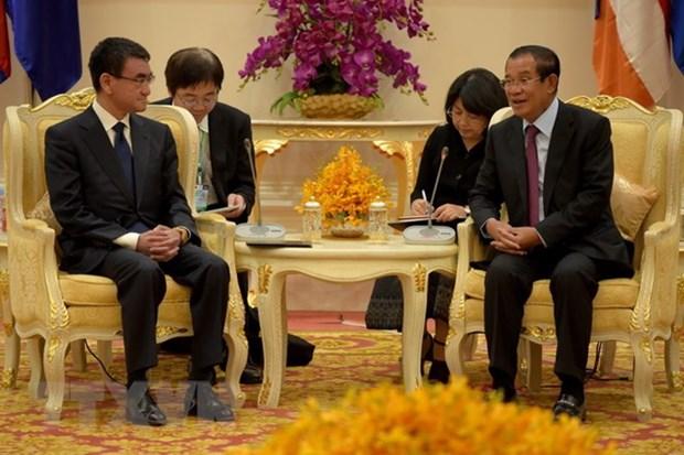 Le Japon et le Cambodge renforcent leur cooperation bilaterale hinh anh 1