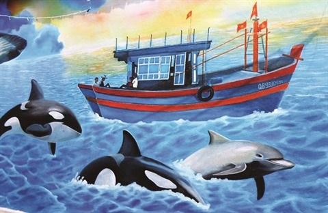 Un projet de peintures murales a Quang Binh hinh anh 1