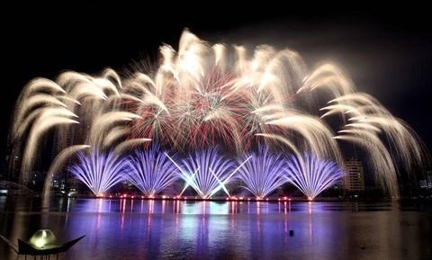 Bientot le Festival international de feux d'artifice de Da Nang 2018 hinh anh 1