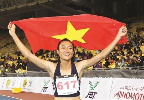 La sprinteuse Le Tu Chinh, jeune fierte du sport vietnamien hinh anh 1