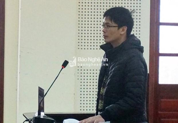 Nghe An : une personne condamnee pour « propagande contre l'Etat » hinh anh 1