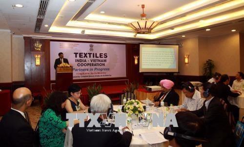 Vietnam et Inde : cooperation dans le textile hinh anh 1