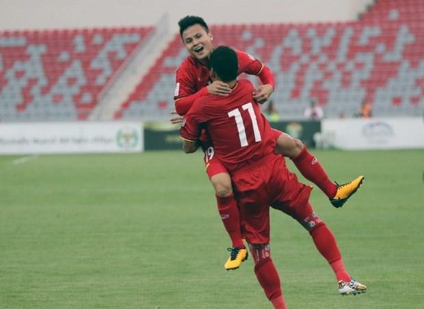 Avril : le Vietnam gagne dix places au classement FIFA hinh anh 1
