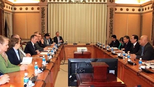Ho Chi Minh-Ville veut developper son partenariat avec le Land allemand de Rhenanie-Palatinat hinh anh 1