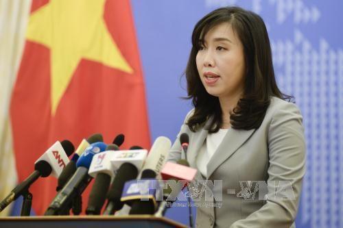 Le Vietnam proteste contre l'utilisation des armes pour menacer la vie des innocents hinh anh 1