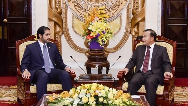 Vietnam-Bahrein : Renforcer la cooperation dans le commerce et l'investissement hinh anh 1