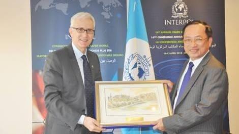 Le Ministere vietnamien de la Securite publique souhaite renforcer sa cooperation avec Interpol hinh anh 1
