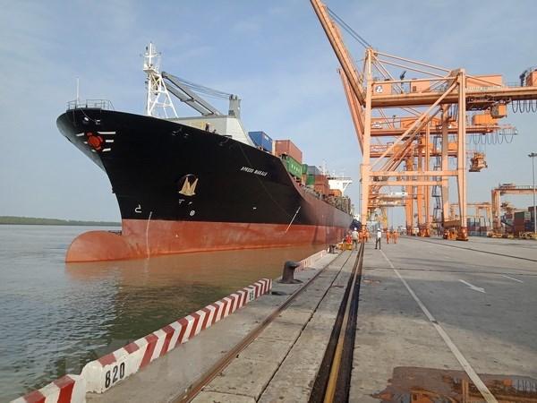 Hai Phong accueille le plus gros porte-conteneurs hinh anh 1