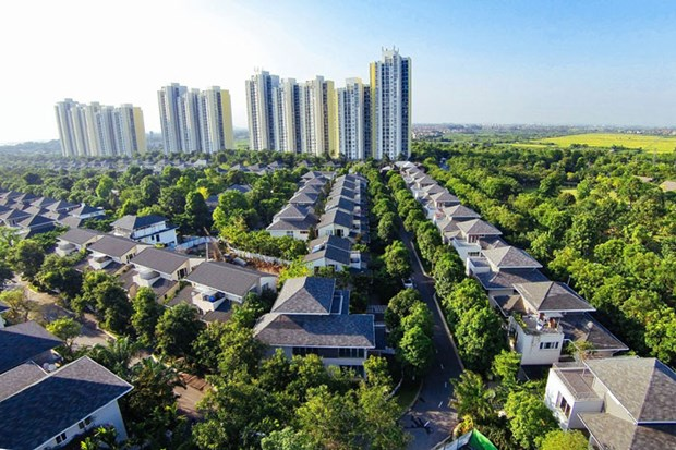 Ecopark, la meilleure zone urbaine du Vietnam hinh anh 1