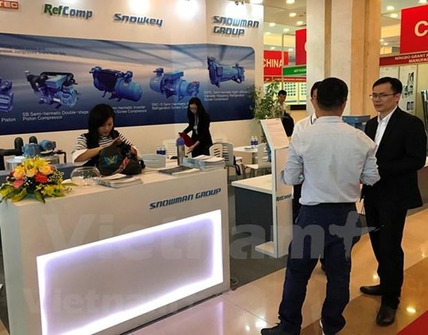 Plus de 200 labels a l'exposition internationale HVACR Vietnam 2018 hinh anh 1