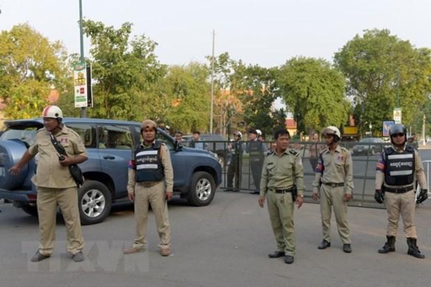 Le Cambodge deploiera 80.000 agents de securite pour les elections generales hinh anh 1