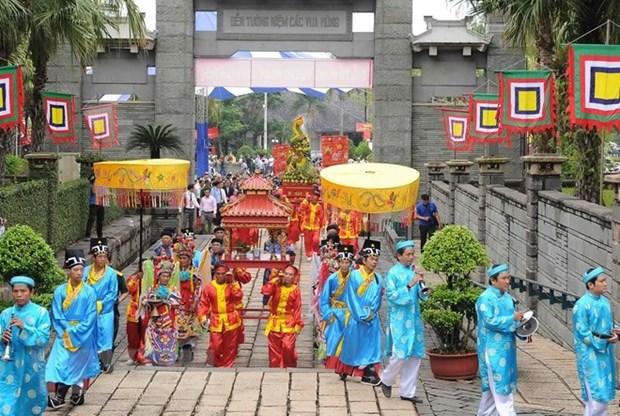 HCM-V organisera des activites pour l'anniversaire de la mort des Rois Hung hinh anh 1