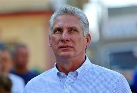 Felicitations au nouveau president du Conseil d'Etat et du Conseil des ministres de Cuba hinh anh 1