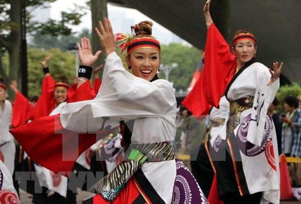 La danse japonaise Yosakoi sera interpretee dans la rue pietonne a Hanoi hinh anh 1