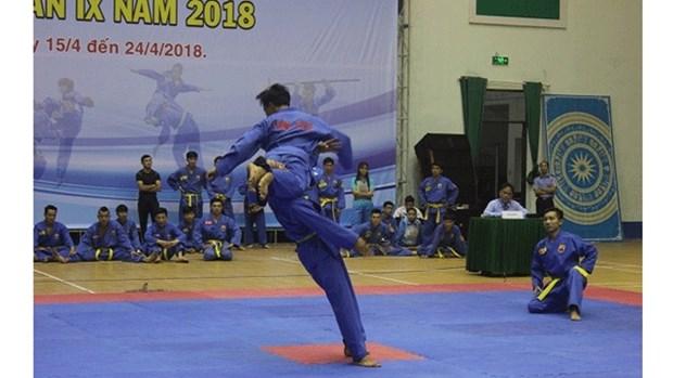 Ouverture le IXe championnat du Vietnam de Vovinam hinh anh 1