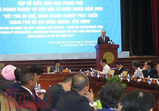 Ho Chi Minh-Ville s'engage a creer les meilleures conditions aux entreprises  hinh anh 1