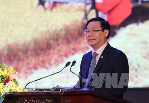 Quatre districts de la province de Nam Dinh reconnus districts de Nouvelle ruralite hinh anh 1