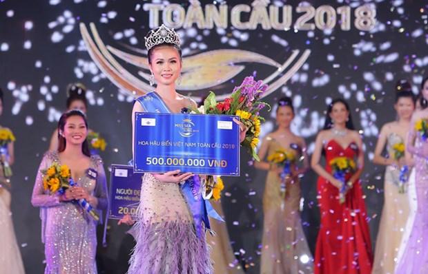Nguyen Thi Kim Ngoc sacree Miss Sea Vietnam Global 2018 hinh anh 1