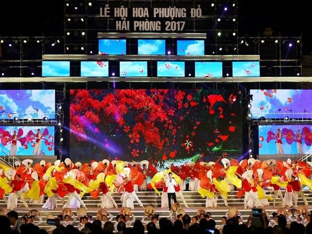Hai Phong : Preparation du 7e Festival des flamboyants rouges 2018 hinh anh 1