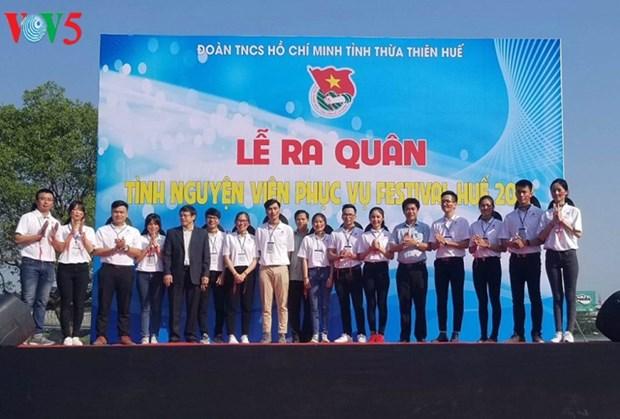 300 benevoles pour le Festival de Hue 2018 hinh anh 1
