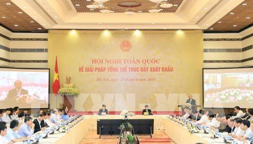 Le PM appelle a mieux s'interesser au marche international hinh anh 1