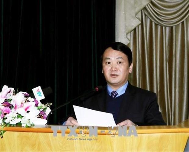 Une delegation de la Conference consultative politique du peuple chinois de Shanghai au Vietnam hinh anh 1