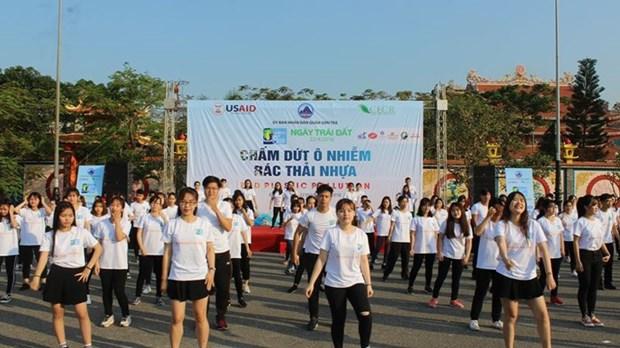 Journee de la Terre 2018 a Da Nang hinh anh 1