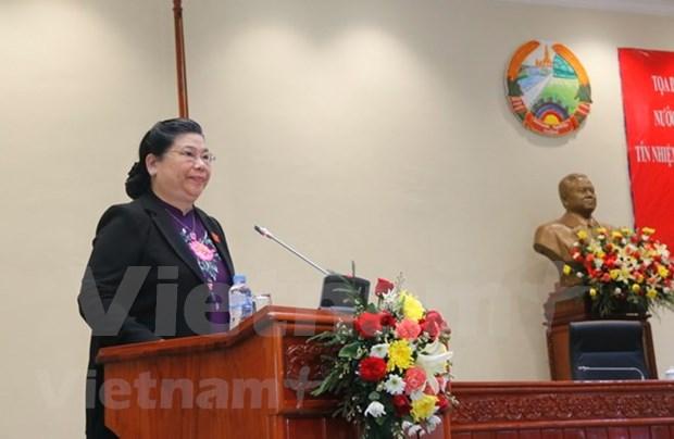 Vietnam et Laos partagent des experiences sur le vote de confiance hinh anh 1