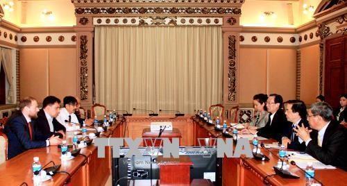 Ho Chi Minh-Ville renforce la cooperation economique avec l'Ukraine hinh anh 1