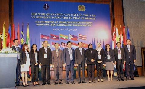ASEAN : 8e reunion des hauts officiels de l'accord d'entraide judiciaire en matiere penale hinh anh 1