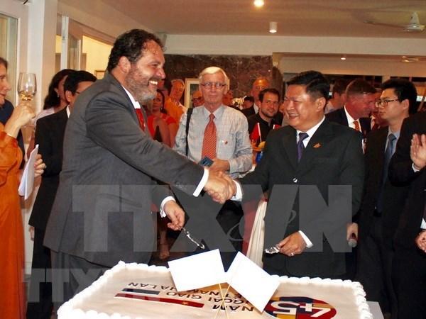 Celebration les 45 ans des relations diplomatiques Vietnam-Pays-Bas hinh anh 1