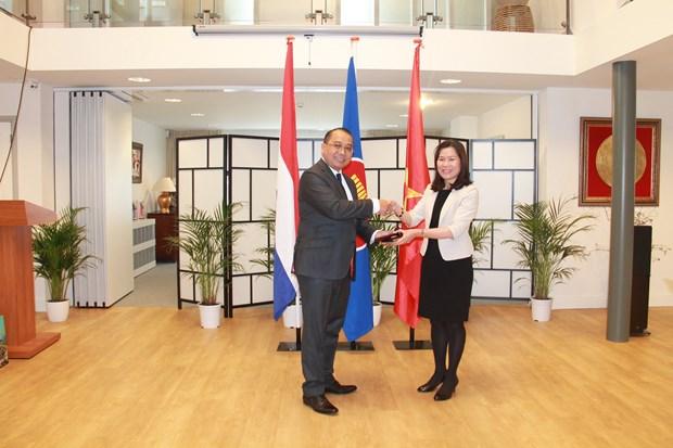 Le Vietnam en qualite de president du Comite de l'ASEAN de La Haye hinh anh 1