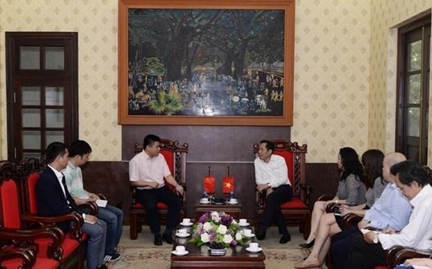 Le Vietnam et la Chine intensifient la cooperation dans la presse hinh anh 1