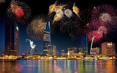 Ouverture du 10e Festival international de feux d'artifice de Da Nang hinh anh 1