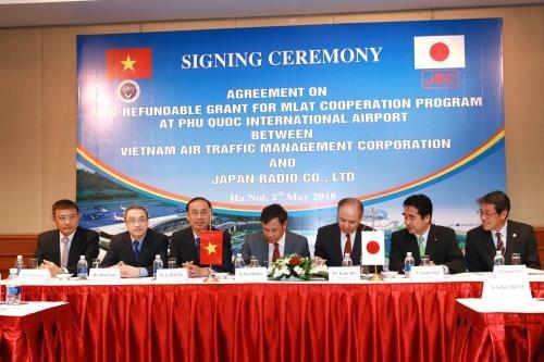 Aide japonaise pour l'aeroport international de Phu Quoc hinh anh 1