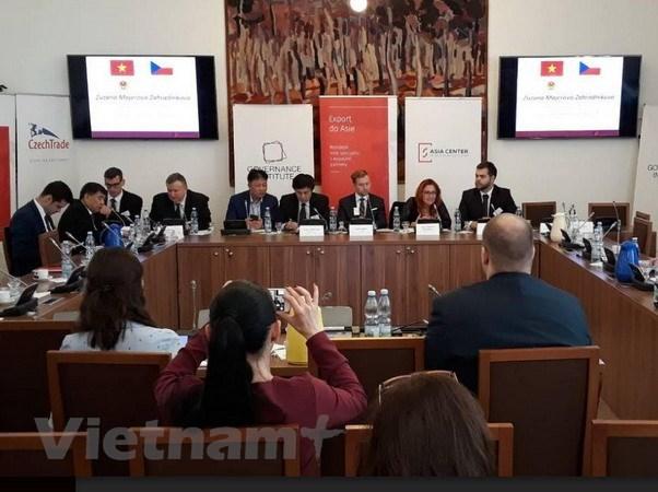 Promotion des relations de cooperation economique et commerciale Vietnam-R.tcheque hinh anh 1