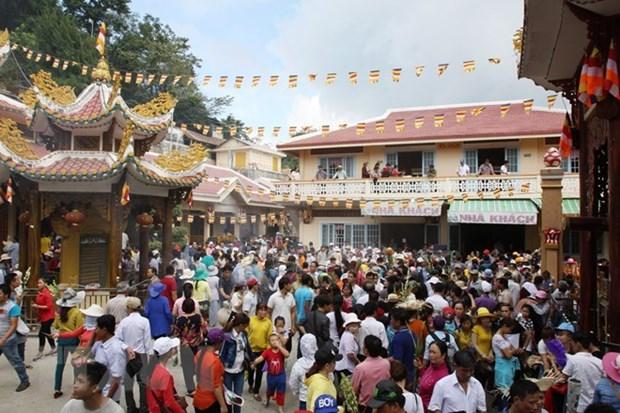 Tay Ninh approuve le plan d'amenagement du site touristique national de Ba Den hinh anh 1