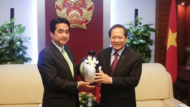 Vietnam - Japon : Renforcer la cooperation dans l'information et la communication hinh anh 2