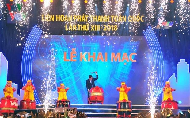 Coup d'envoi de la finale du Festival radiophonique national 2018 hinh anh 1
