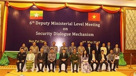 Vietnam - Myanmar : Renforcer la cooperation dans la garantie de la securite nationale hinh anh 1