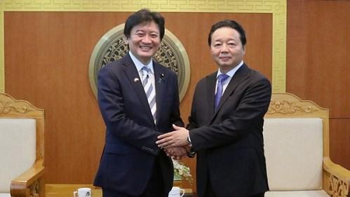 Vietnam - Japon : Ameliorer la qualite de la coooperation dans le secteur environnemental hinh anh 1