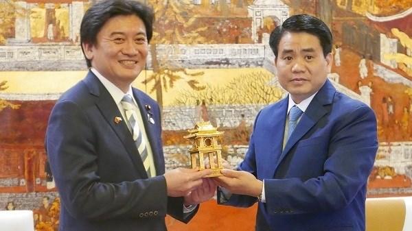 Le Japon s'engage a aider Hanoi dans la protection de l'environnement hinh anh 1